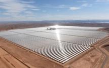 La future plus grande centrale solaire au monde a été inaugurée au Maroc hier : les photos sont impressionnantes