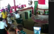 Attaque de Grand Bassam, l'un des terroristes filmé par une camera de surveillance
