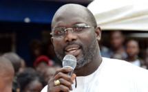 Libéria : L'ex-star du football, George Weah annonce officiellement sa candidature à la présidentielle de 2017