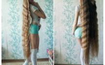 """L'incroyable chevelure de la """"Raiponce"""" russe"""