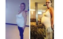 Cette mère prend une photo de son ventre. Lorsque les médecins le voient, ils sont sous le choc.