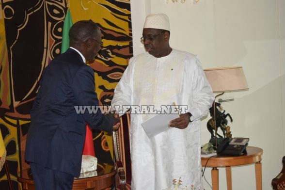 « Mahammed Boun Abdallah Dionne s'est acquitté de sa charge avec dévouement, sans faille aucune, en se faisant une haute idée de sa mission » (Macky Sall)