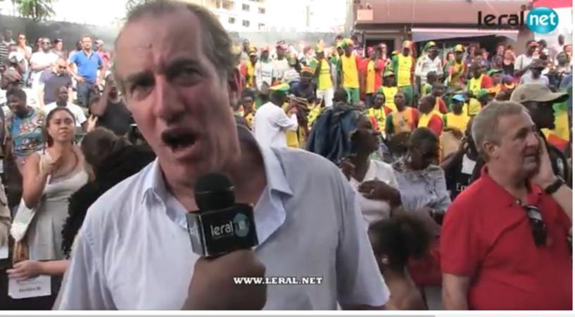 S.E Christophe Bigot félicite la France et rend hommage au 12e Gaïndé sénégalais